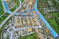 Azizi Riviera, developer's masterplan model, Dubai
