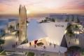 Qatar Expo 2020 Pavilion, artist's impression, Dubai