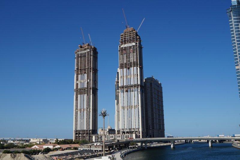 Al Habtoor City, Dubai, construction update December 2017