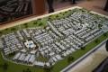 Arabella 3, Dubai, developer's masterplan model