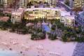 Bluewaters Island, developer's model, Dubai