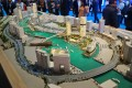 Business Bay, Dubai, developer's masterplan model