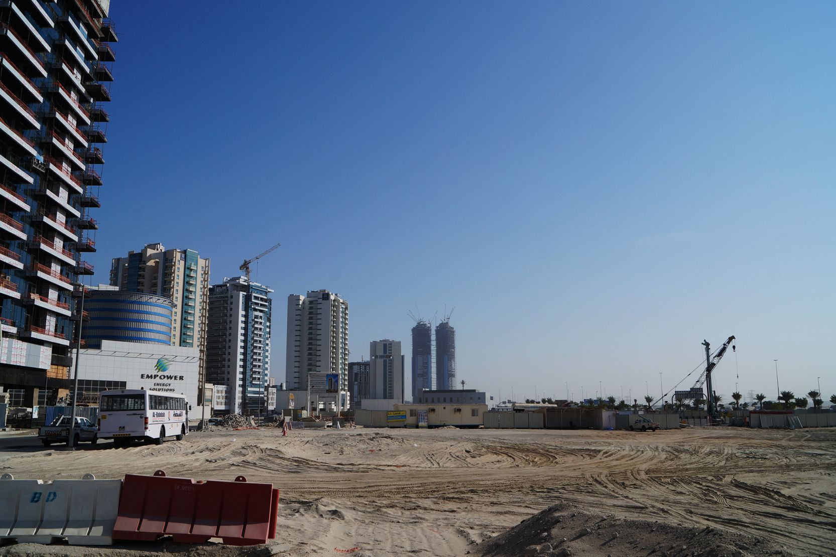Business Bay, Dubai, construction update November 2015