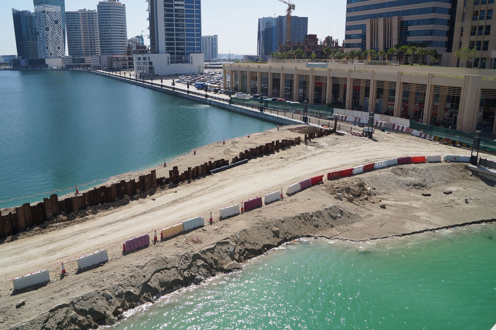 Business Bay, canal extension, Dubai, construction update April 2016
