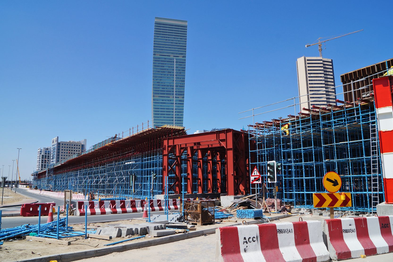 Business Bay, Dubai, construction update April 2016