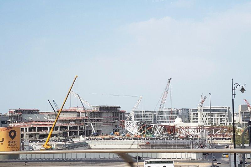 City Walk Stadium, Dubai, construction update December 2017