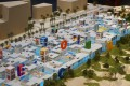 Creative Community, Dubai, developer's 3D masterplan model