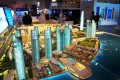Culture Village, Dubai, developer's 3D masterplan model
