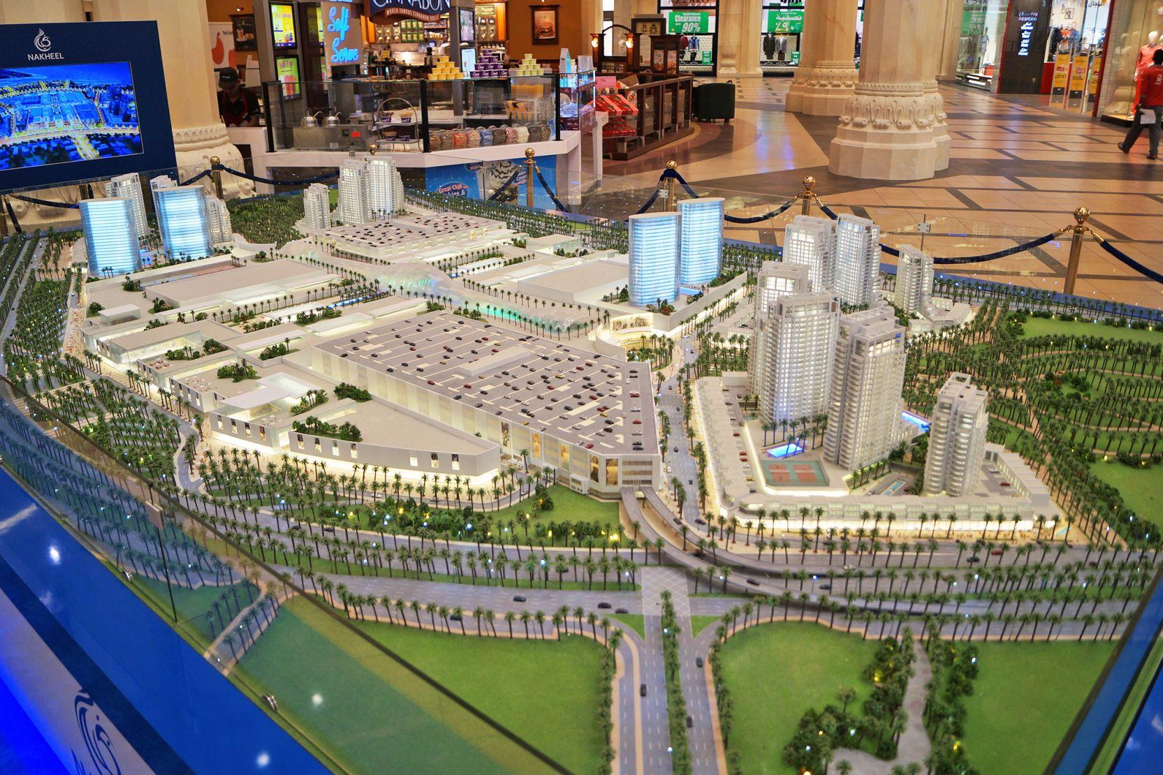 Deira Islands, Dubai, developer's model