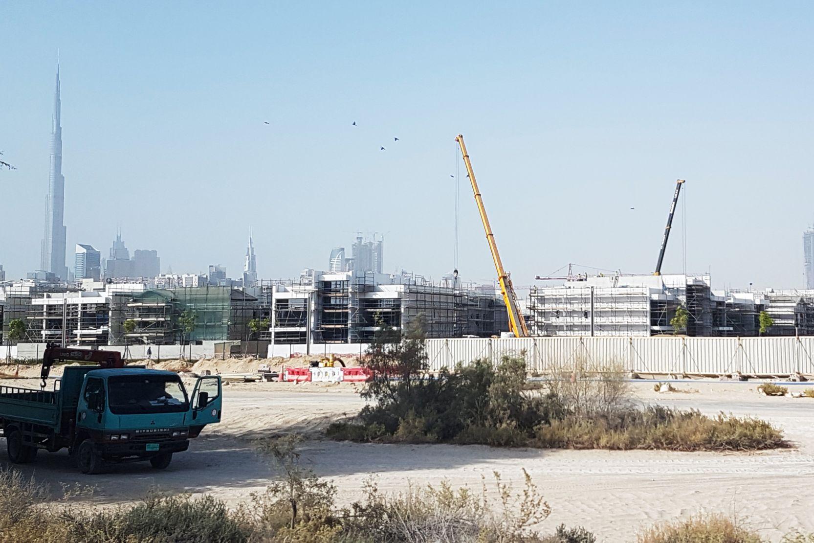 District One, Dubai, construction update August 2016