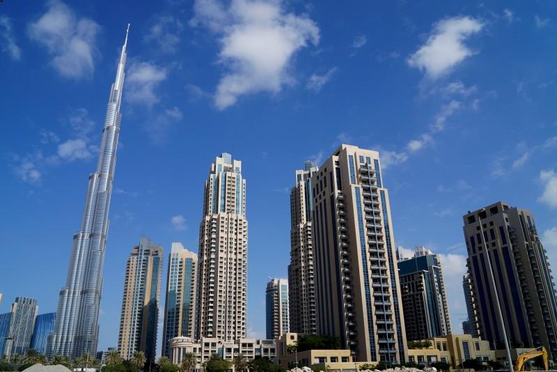 Downtown Dubai, Residential Towers