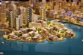 Dubai Creek Harbour, Dubai, developer's 3D masterplan model