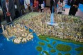 Dubai Creek Harbour, Dubai, developer's masterplan model