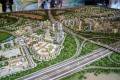 Dubai Hills Estate, Dubai, developer's 3D masterplan model