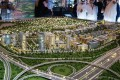 Dubai Hills Estate, developer's masterplan model, Dubai