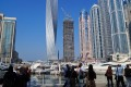 Dubai Marina, popular tourist photo stop, Dubai