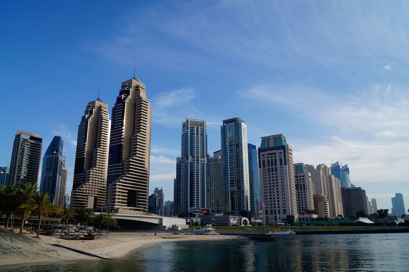 Dubai Marina, North Entrance