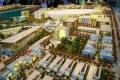Dubai South, Dubai, developer's 3D masterplan model