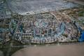 Dubai South, Dubai, developer's masterplan model