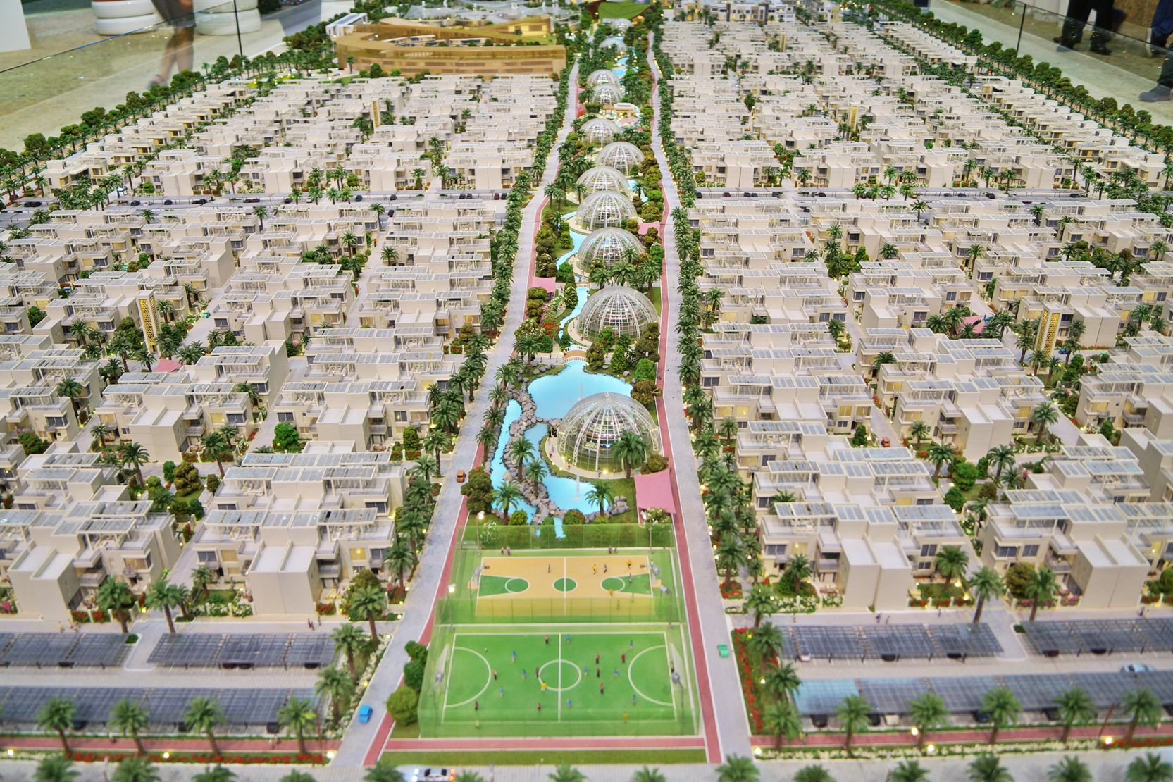 Dubai Sustainable City, Dubai, developer's model