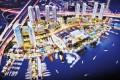 Dubai Wharf, Dubai, developer's masterplan
