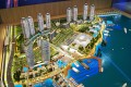 Dubai Wharf, Dubai, developer's masterplan model