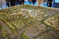 Expo 2020 Distrct, Dubai, developer's masterplan model