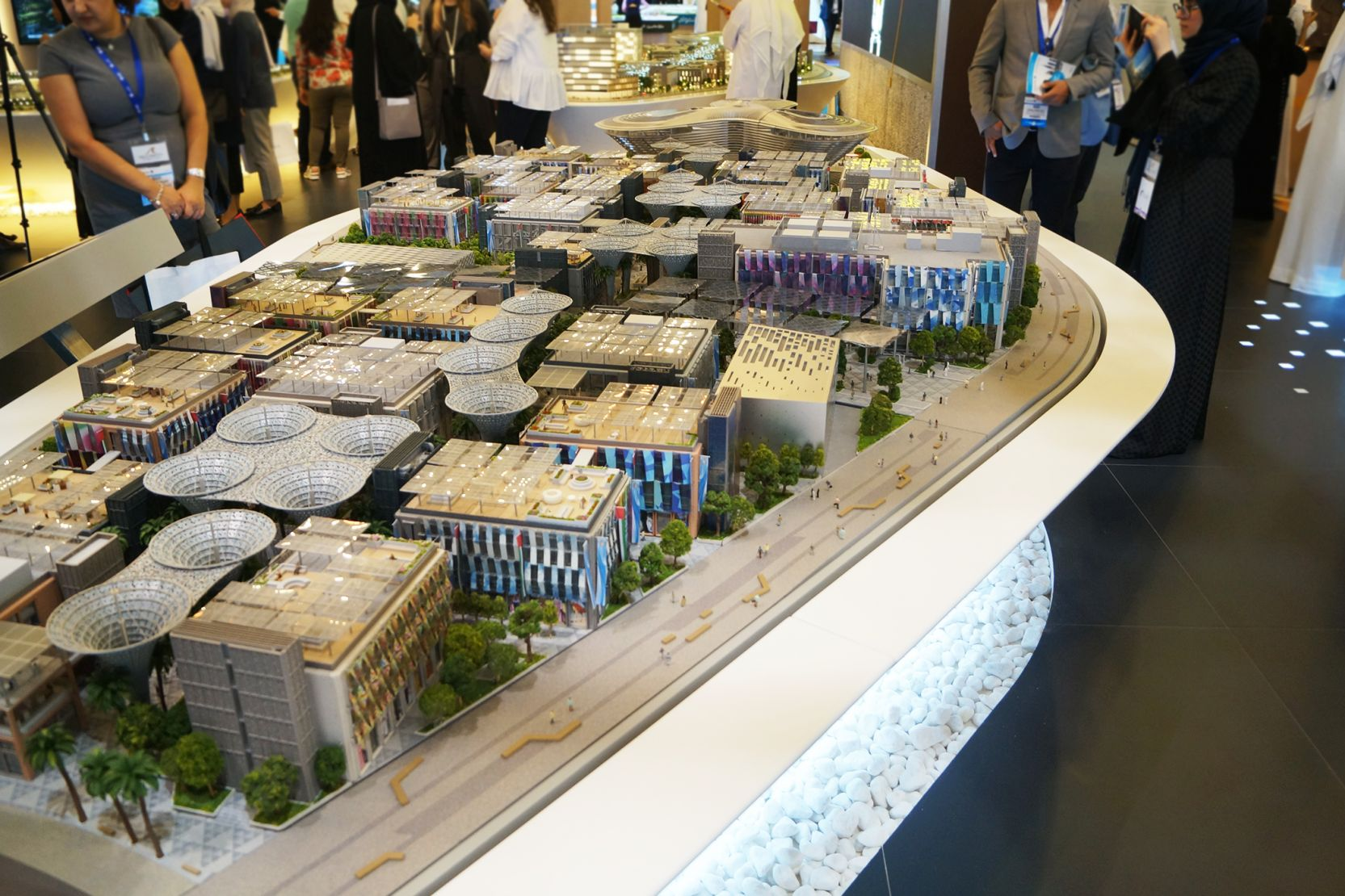 Expo 2020 Distrct, Dubai, developer's model