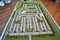 Grand Views, Dubai, developer's masterplan model