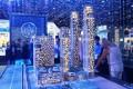 Al Habtoor City, Dubai, developer's masterplan model