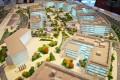 Innovation Hub, Dubai, developer's masterplan model