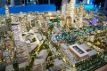 Jumeirah Central, Dubai, developer's masterplan model