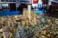 Jumeirah Central, developer's masterplan model, Dubai