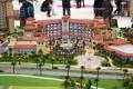 Jumeirah Golf Estates, developer's model, Dubai
