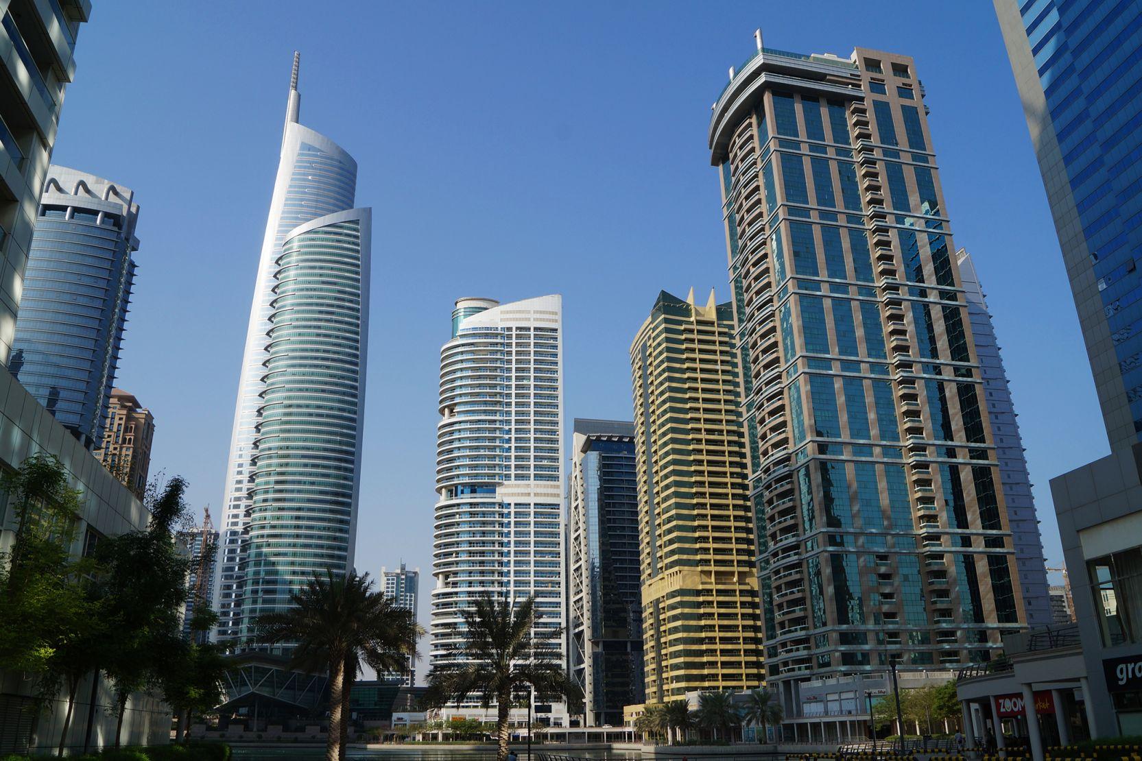 Jumeirah Lakes Towers, Dubai