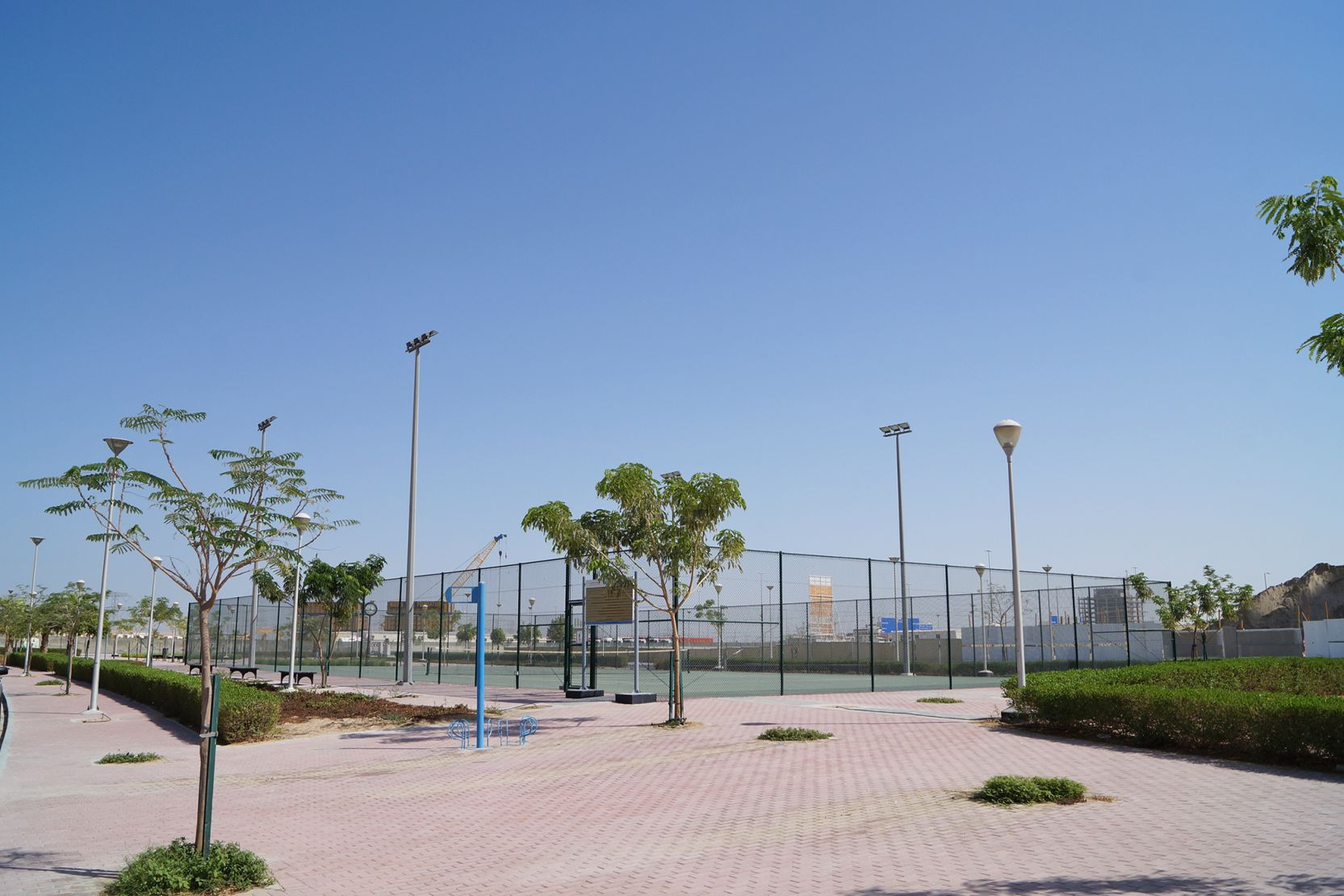 Jumeirah Village Triangle tennis courts, Dubai