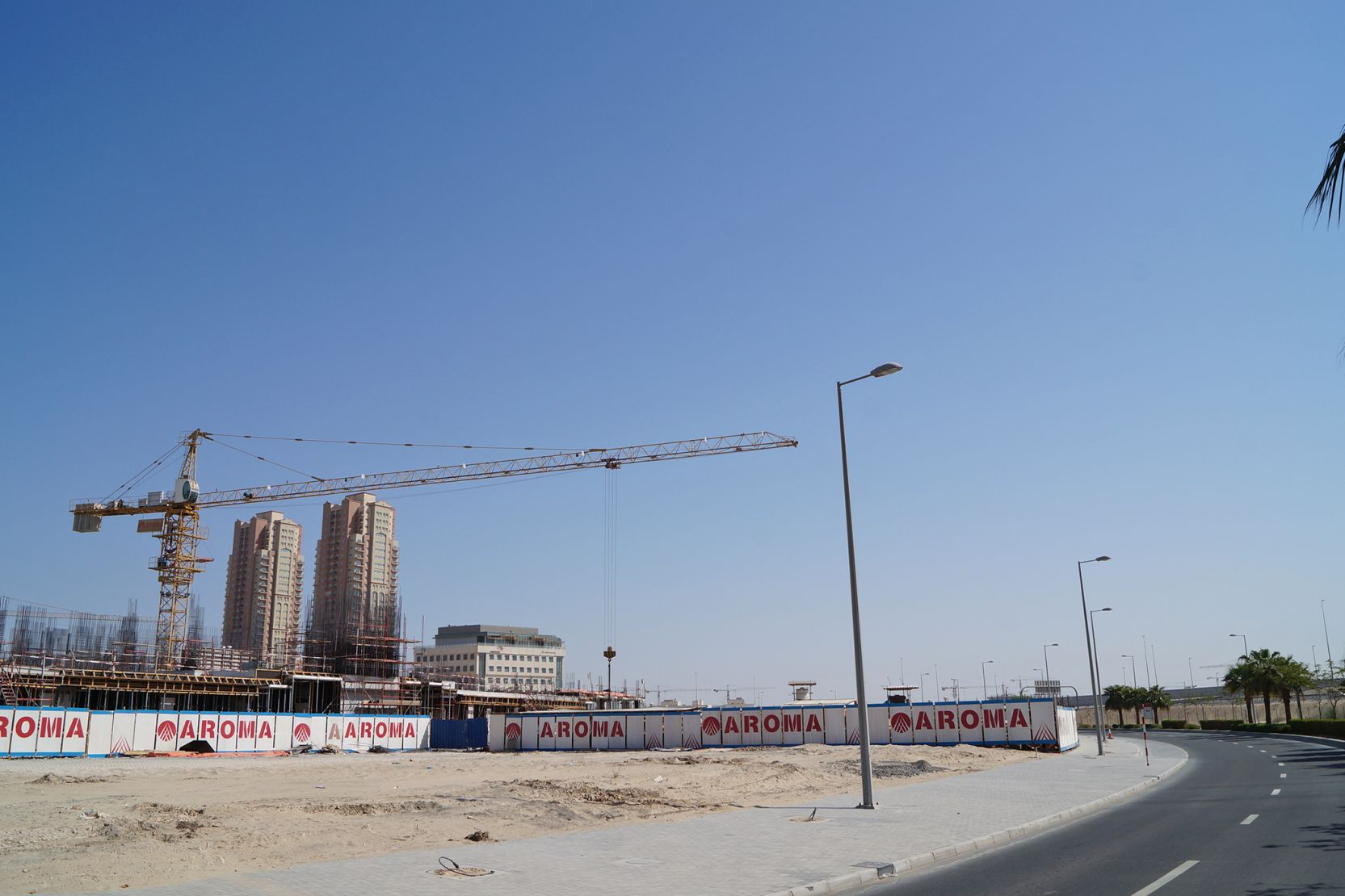 Jumeirah Village Triangle, new apartment buildings under construction, Dubai