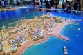 La Mer, Dubai, developer's masterplan model