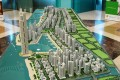 Madinat Al Arab, Dubai, developer's masterplan model