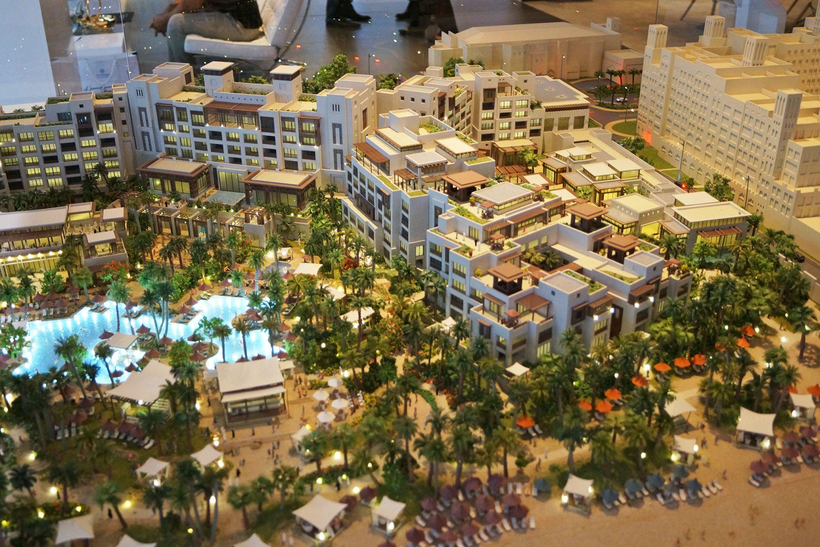 Madinat Jumeirah, Jumeirah Al Naseem, Dubai, developer's 3D model