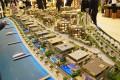 MAG of Life Creek Resort, Dubai, developer's masterplan model