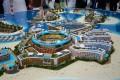 Main Europe Island, developer's model, Dubai