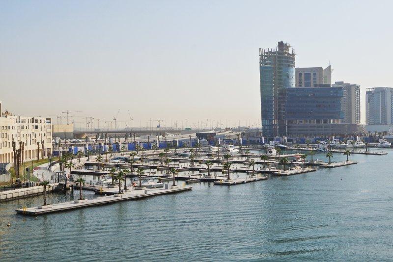 Marasi Business Bay, Dubai, construction update February 2018