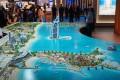 Marsa Al Arab, Dubai, developer's masterplan model