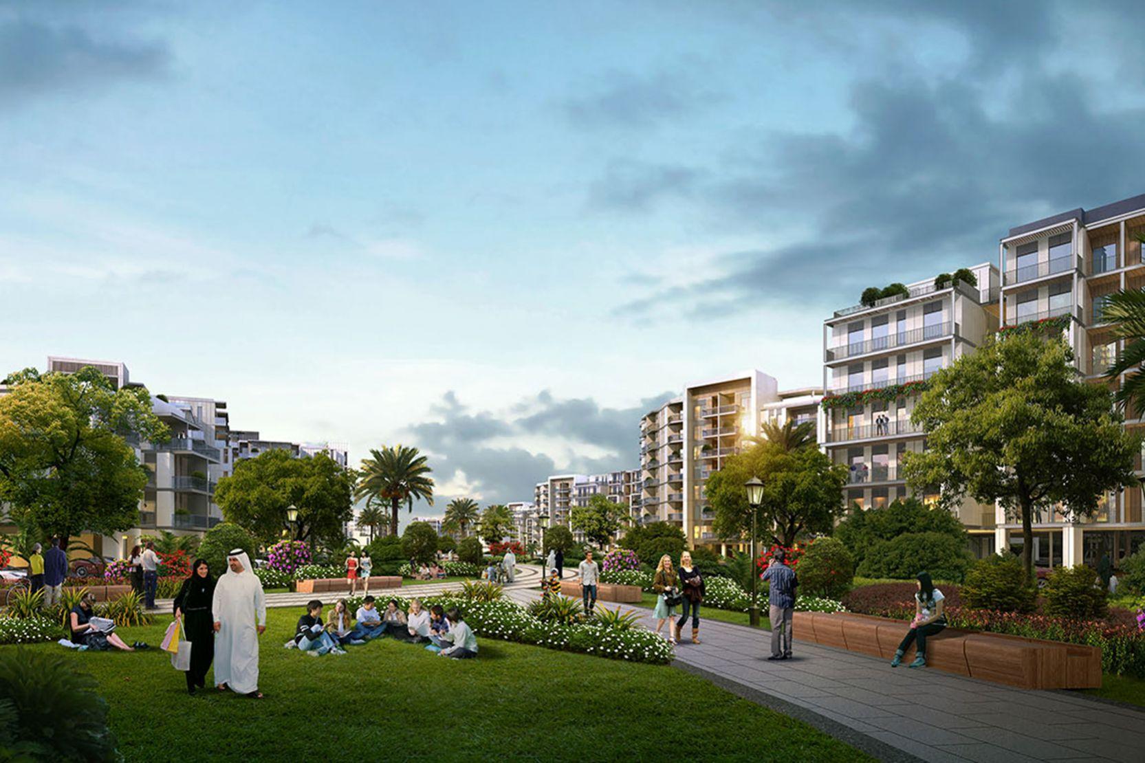 MBR District 7, Dubai, artist's impression