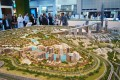 Meydan One, Dubai, developer's masterplan model