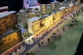 Midtown by Deyaar, Dubai, developer's 3D masterplan model
