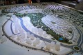 Mudon, Dubai, developer's masterplan model