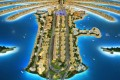 Palm Jumeirah trunk, developer's masterplan model, Dubai