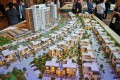 Parklane, Dubai, developer's masterplan model